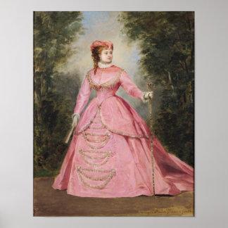 Hortense Schneider  1868 Poster