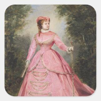 Hortense Schneider  1868 Stickers