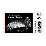 'Hortense' Turkey Vulture Postage Stamp