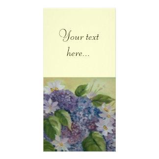 HORTENSEAS PHOTO CARD TEMPLATE