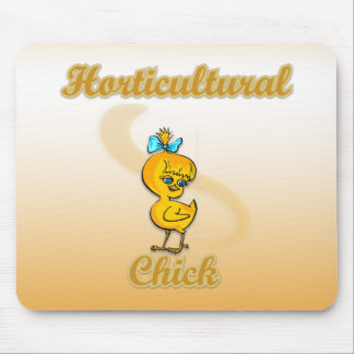 Horticultural Chick Mousepads