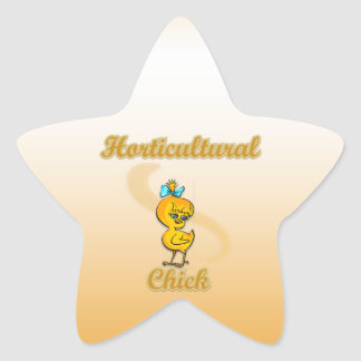 Horticultural Chick Sticker