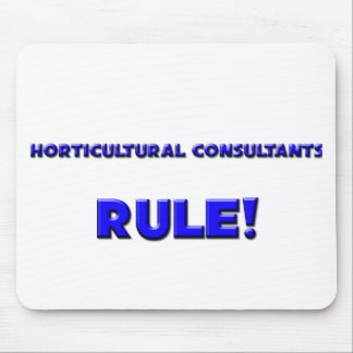 Horticultural Consultants Rule Mouse Pads