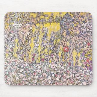 Horticultural landscape hilltop by Gustav Klimt Mousepad
