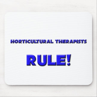 Horticultural Therapists Rule Mouse Pad