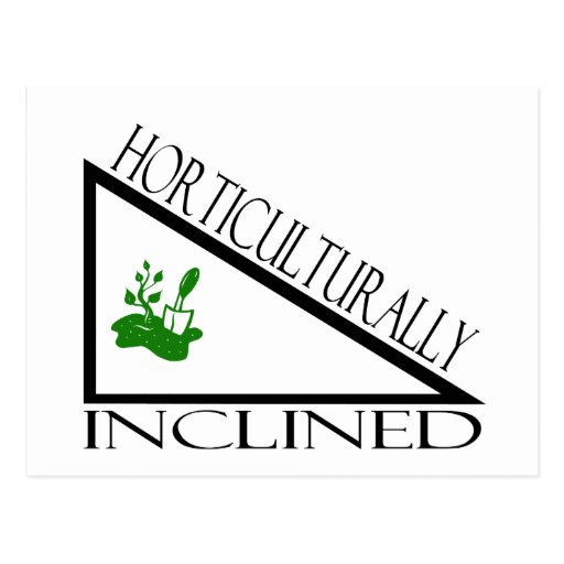 Horticulturally Inclined Postcard