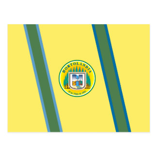 Hortolandia Saopaulo Brasil, Brazil flag Postcard