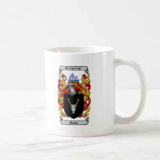 HORTON FAMILY CREST -  HORTON COAT OF ARMS COFFEE MUG