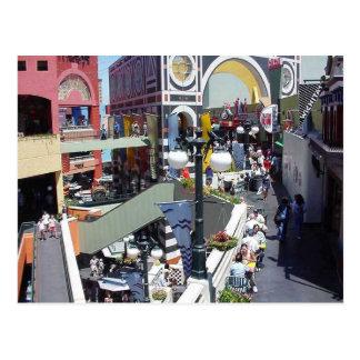 Horton Plaza, San Diego Postcard