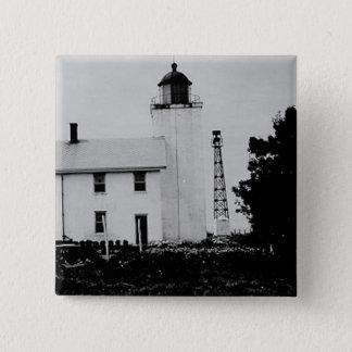 Horton Point Lighthouse Button