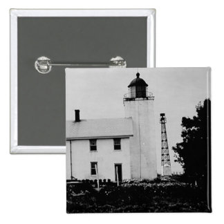 Horton Point Lighthouse Button