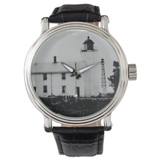 Horton Point Lighthouse Wrist Watches
