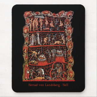 Hortus Deliciarum Hell Mouse Pad