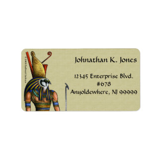 Horus Address Label