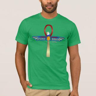 Horus Ankh2 Men's Poly-Cotton Blend T-Shirt