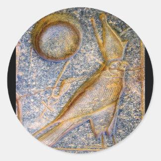 Horus Classic Round Sticker