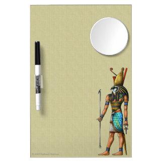 Horus Dry Erase Board With Mirror