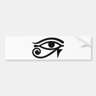 Horus Eye Car Bumper Sticker