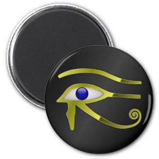 Horus Eye Ra Egypt Egyptian Gold Spiritual Magnet