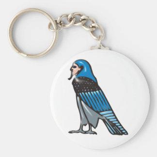 Horus falcon keychain