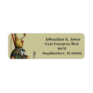 Horus Return Address Label