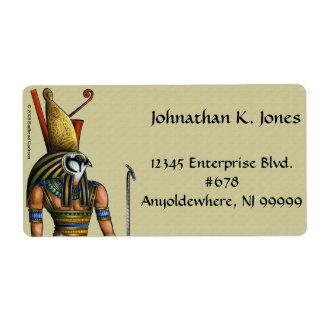 Horus Shipping Label