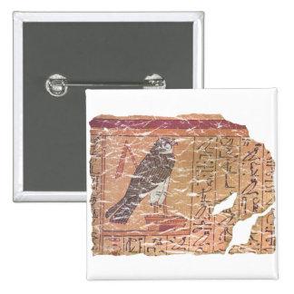 Horus speaks to Osiris 2 Inch Square Button