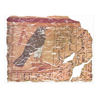 Horus speaks to Osiris Postcard