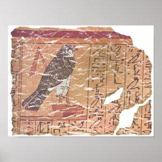 Horus speaks to Osiris Poster