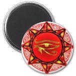 Horus Storm 2 Inch Round Magnet