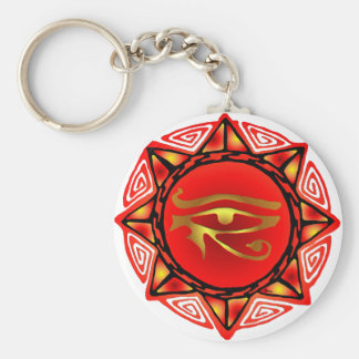 Horus Storm Keychain