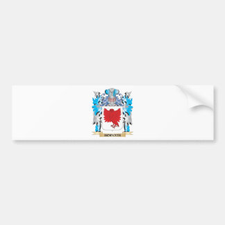 Horvath Coat of Arms - Family Crest Car Bumper Sticker