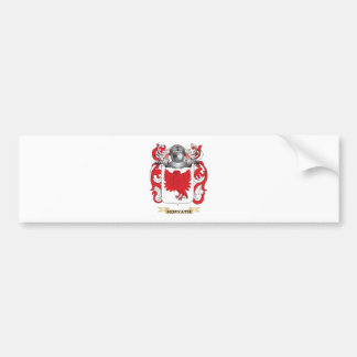 Horvath Coat of Arms (Family Crest) Car Bumper Sticker