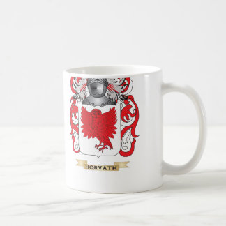 Horvath Coat of Arms (Family Crest) Classic White Coffee Mug