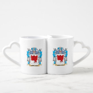 Horvath Coat of Arms - Family Crest Couples' Coffee Mug Set