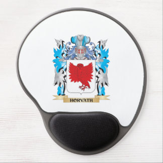 Horvath Coat of Arms - Family Crest Gel Mouse Pad