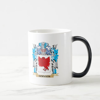 Horvath Coat of Arms - Family Crest 11 Oz Magic Heat Color-Changing Coffee Mug