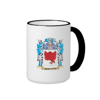 Horvath Coat of Arms - Family Crest Ringer Coffee Mug