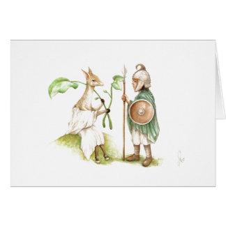 Hos & Ertae Franks Casket Greeting Card