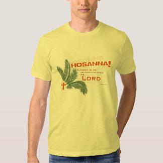 ¡Hosanna! Camiseta cristiana Playera
