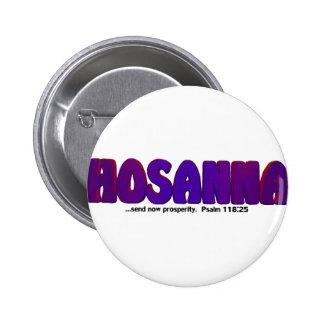 HOSANNA PIN REDONDO 5 CM