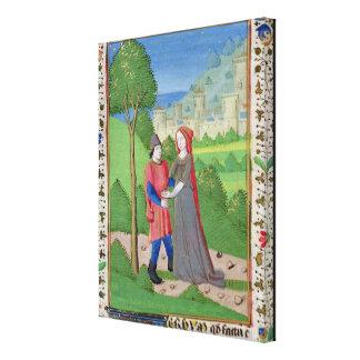Hosea y la prostituta de la biblia lienzo envuelto para galerías