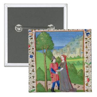 Hosea y la prostituta, de la biblia pin cuadrado