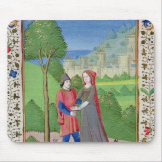 Hosea y la prostituta, de la biblia alfombrillas de ratón