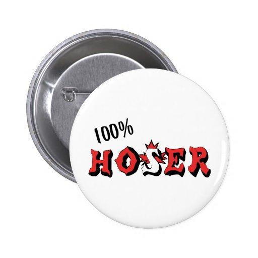 Hoser 100% pin redondo de 2 pulgadas