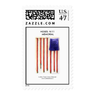 """""""Hoses"""" American Flag Postage Stamps"""