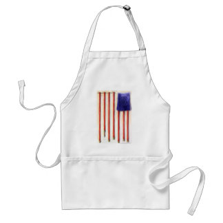 """""""Hoses"""" American Flag Tees Gifts & Collectibles Adult Apron"""
