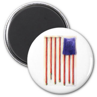 """""""Hoses"""" American Flag Tees Gifts & Collectibles 2 Inch Round Magnet"""