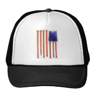 """""""Hoses"""" American Flag Tees Gifts & Collectibles Trucker Hat"""