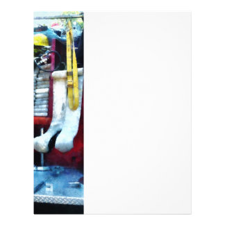 "Hoses in Fire Truck 8.5"" X 11"" Flyer"